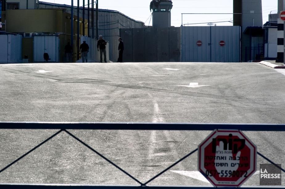 Le passage de Erez.... (Photo Martin Tremblay, archives La Presse)