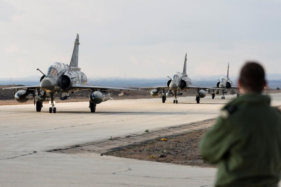 Dimanche, les Forces démocratiques syriennes (FDS), appuyées dans... (Photo archives AFP)