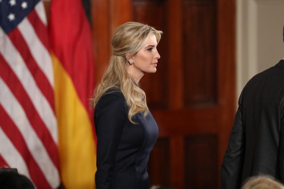 Ivanka Trump, qui dirigeait sa propre entreprise avant... (AP)