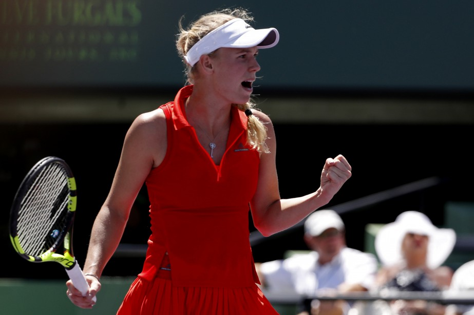 Caroline Wozniacki... (Photo Geoff Burke, USA Today Sports)