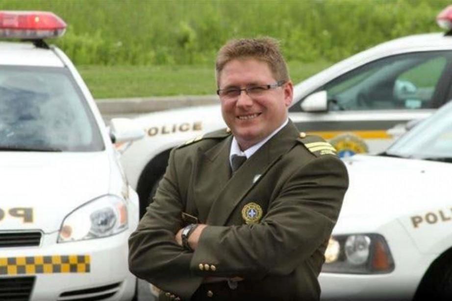 Le capitaine de la Sûreté du Québec Michel... (PHOTO TIRÉE D'UN DOCUMENT DE LA SÛRETÉ DU QUÉBEC)
