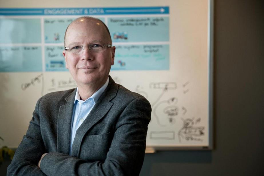 Patrick Gilloux, président et chef des opérations de... (Photo Marco Campanozzi, La Presse)