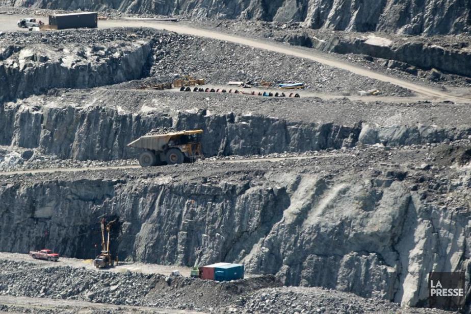 Les investissements miniers totaux ont grimpé à 2,56... (PHOTO OLIVIER JEAN, ARCHIVES LA PRESSE)
