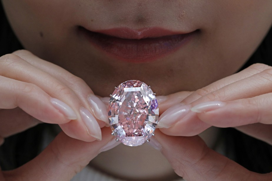 Le «Pink Star», une pierre de 59,60 carats,... (AP)
