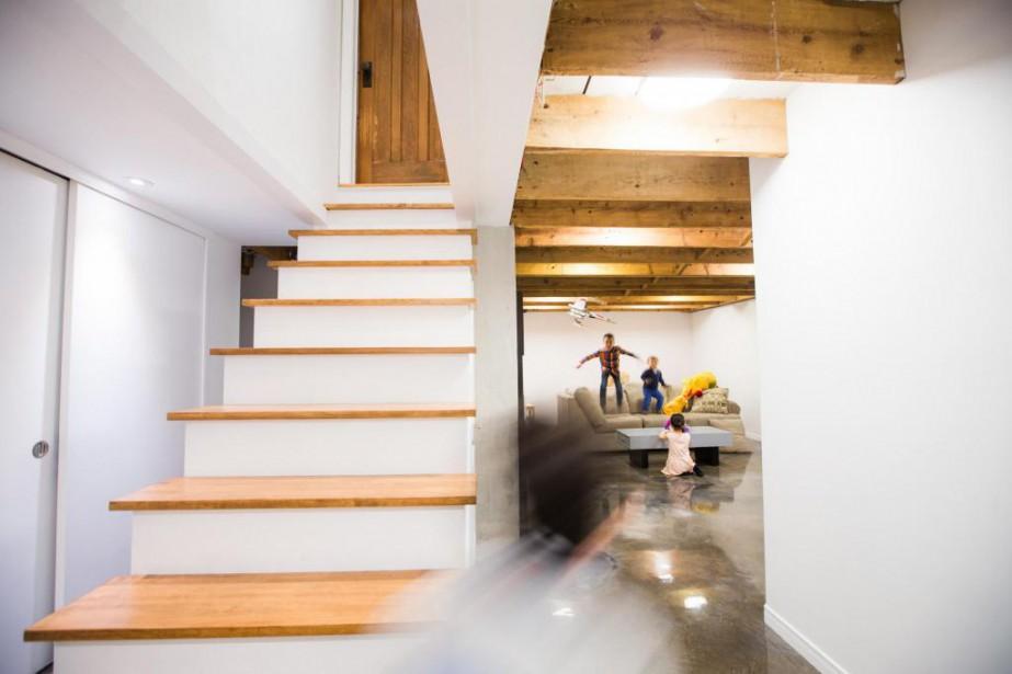 Réaménager le sous-sol est une option de plus... (Photo Olivier PontBriand, La Presse)