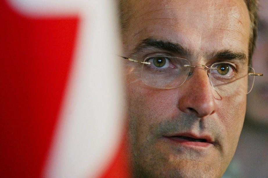 Jean Lapierre estmort il y a un an... (Photo Andrew Vaughan, archives La Presse canadienne)