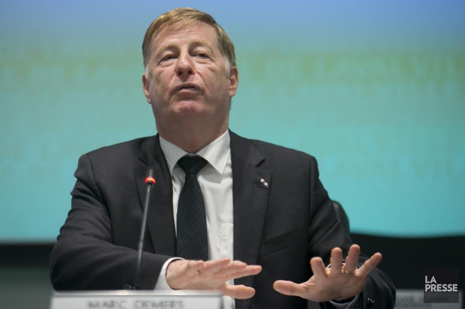 Le maire de Laval, Marc Demers... (PHOTO DAVID BOILY, LA PRESSE)