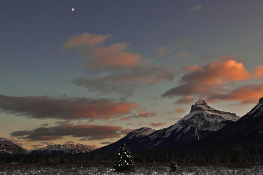 Le parc national de Banff près de Lake... (PHOTO Andy Clark, ARCHIVES REUTERS)