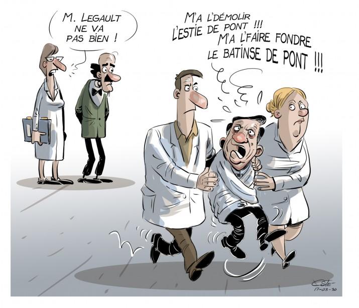Caricature du 30 mars | 30 mars 2017