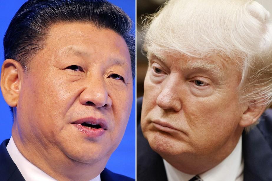 Xi Jinping et Donald Trump.... (Photos archives Associated Press)