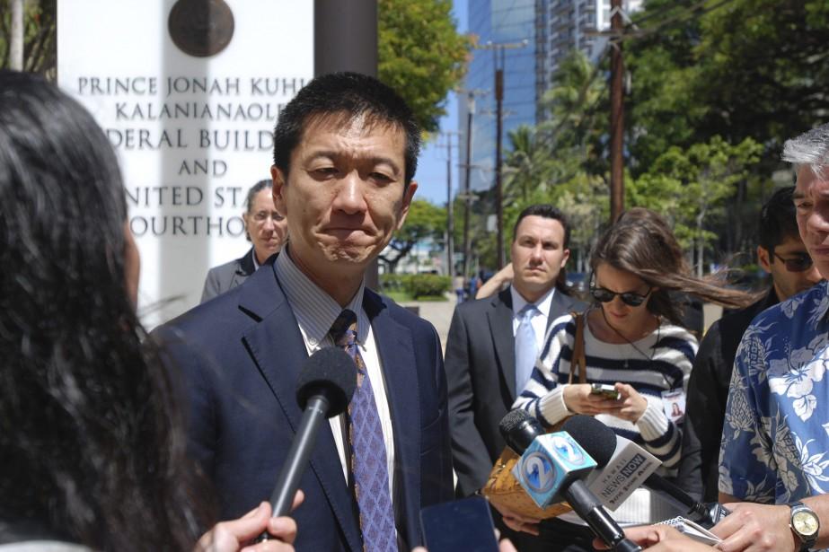 Le procureur général d'Hawaï, Douglas Chin, a soutenu... (PHOTO AP)