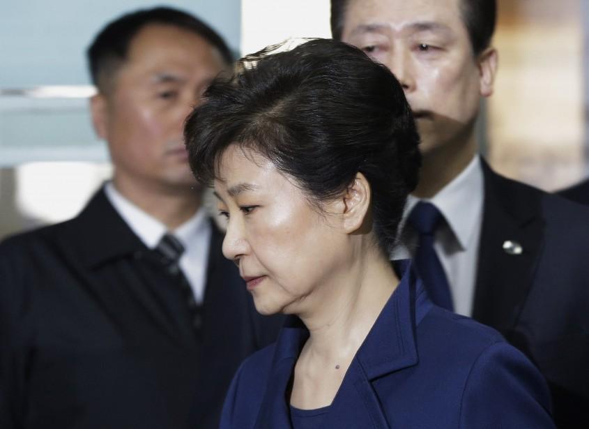 Park Geun-hye, 66ans, est déjà en prison après... (PHOTO AHN YOUNG-JOON, ARCHIVES ASSOCIATED PRESS)