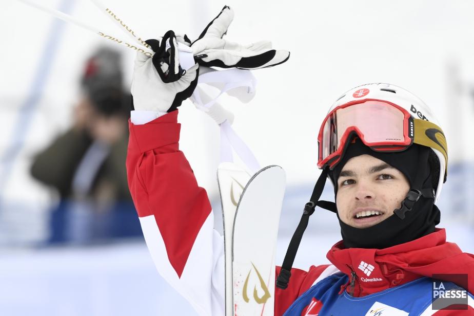 Mikaël Kingsbury a terminé premier au classement de... (Photo Bernard Brault, La Presse)