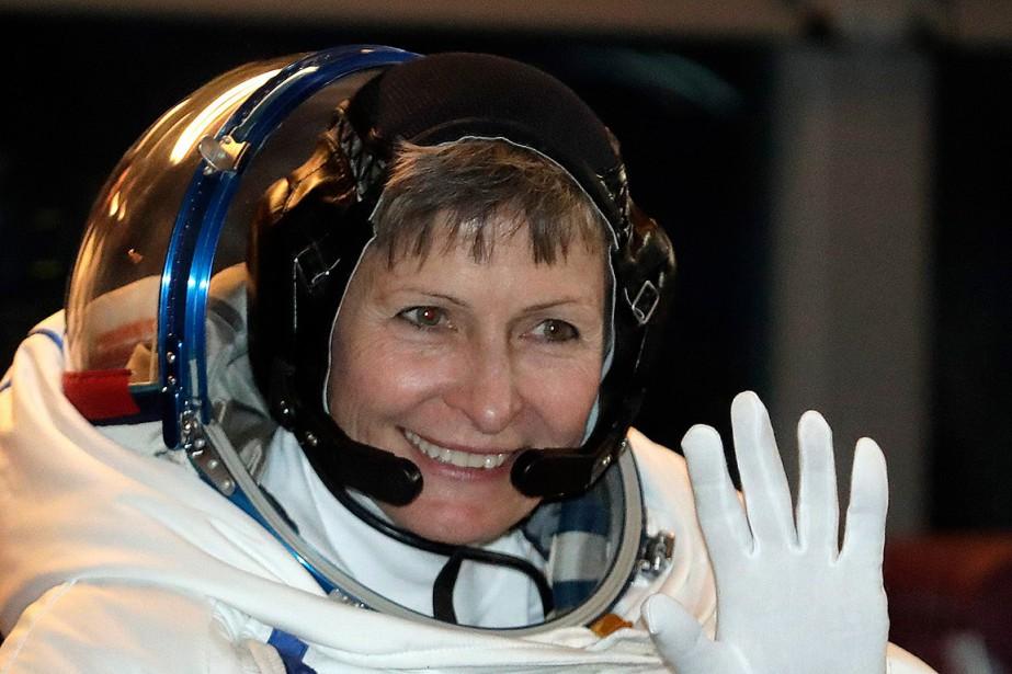 L'astronaute américaine Peggy Whitson.... (Dmitri Lovetsky, archives AP)