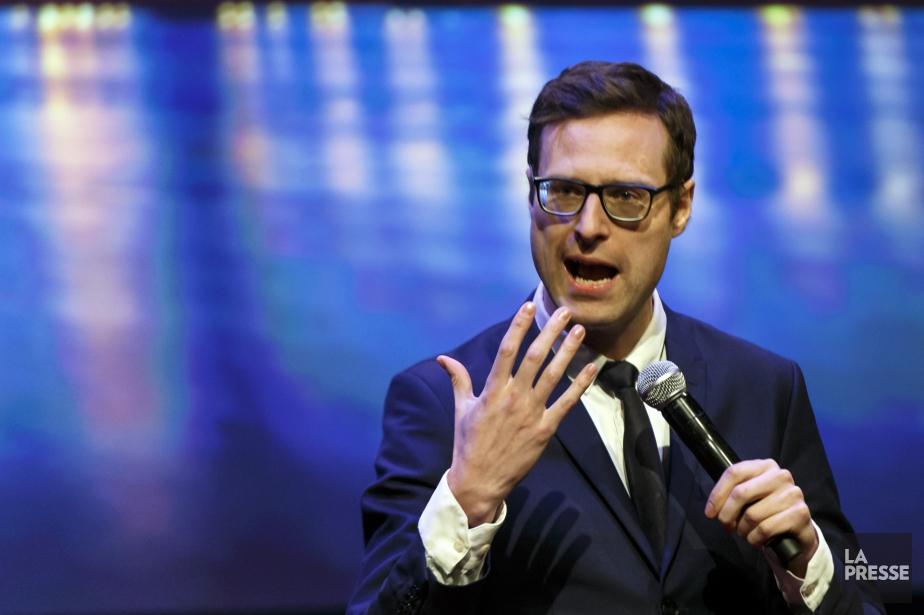 Louis T livre un humour intelligent sans pour... (Photo Olivier Jean, La Presse)