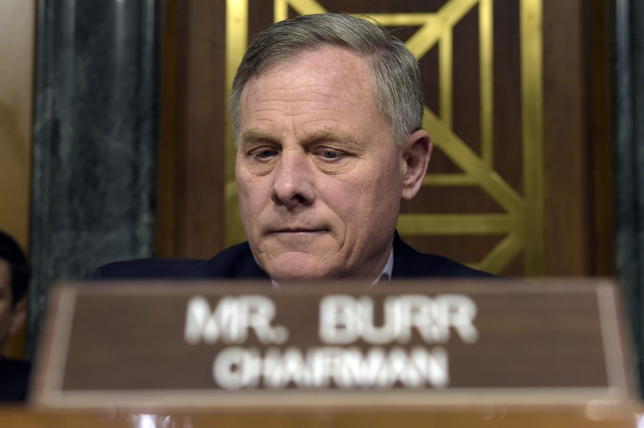 Richard Burr... (PHOTO AP)