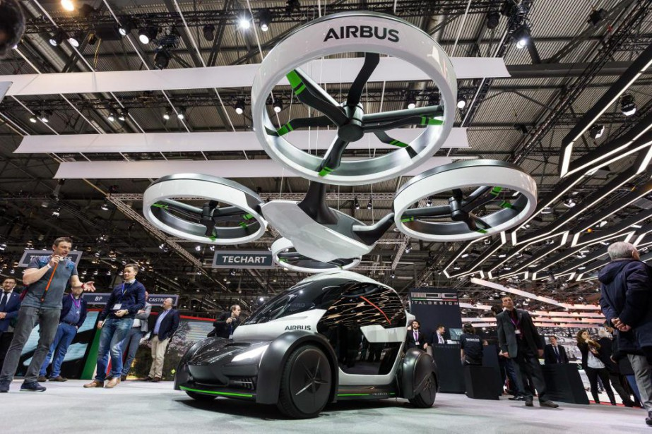 La Pop Up s'inspire des drones et du transport intermodal. (PHOTO CYRIL ZINGARO, ARCHIVES ASSOCIATED PRESS)