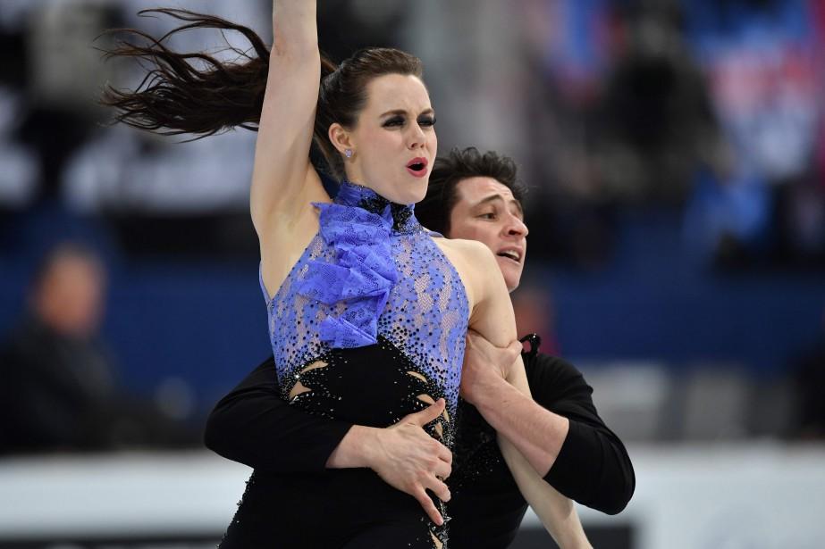 Tessa Virtue et Scott Moir... (Photo AFP)