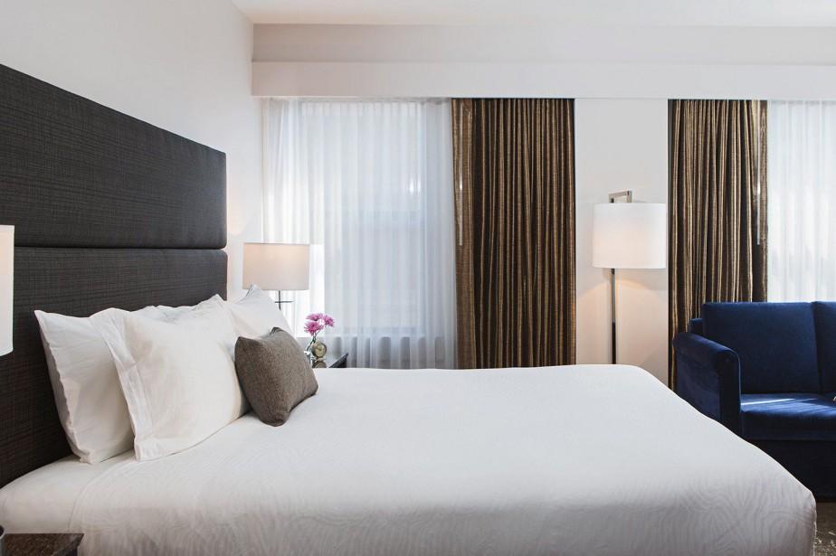 L'hôtel Carlyleest à sept minutes de marche du... (Photo tirée du site web de l'hôtel)