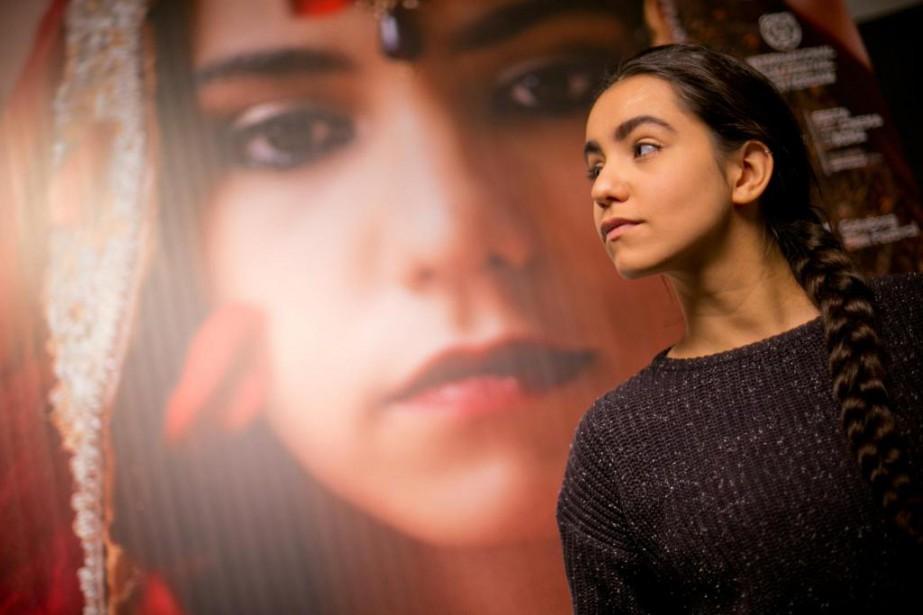 Dans Noces, l'actrice française Lina El Arabiincarne une... (Photo David Boily, La Presse)