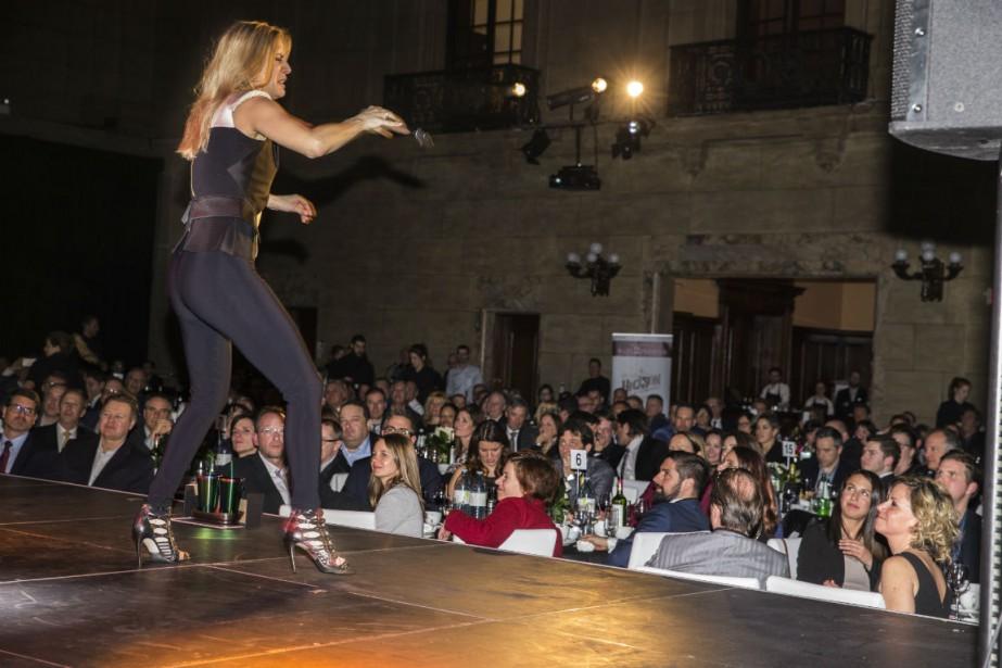 Le 28 mars dernier, un souper-spectacle bénéfice avec... (Photo fournie par la Fondation)