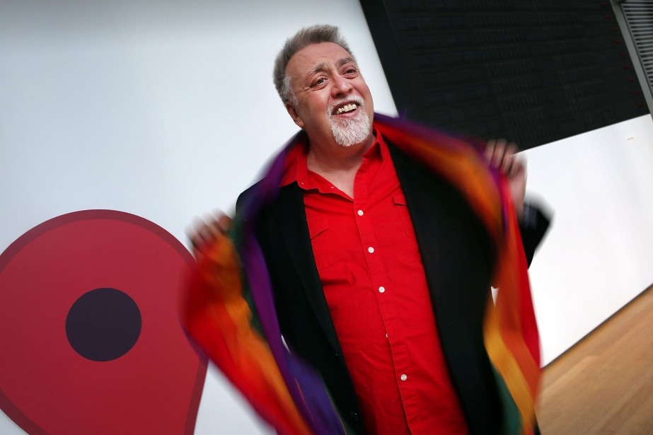 Gilbert Baker... (PHOTO ARCHIVES AFP/GETTY IMAGES)