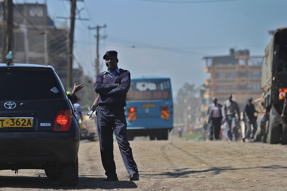 De source policière, les deux victimes sont des... (Photo TONY KARUMBA, AFP)