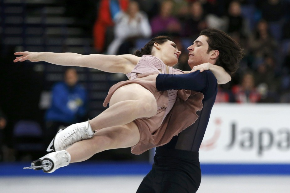 Tessa Virtue et Scott Moir.... (Photo Grigory Dukor, REUTERS)