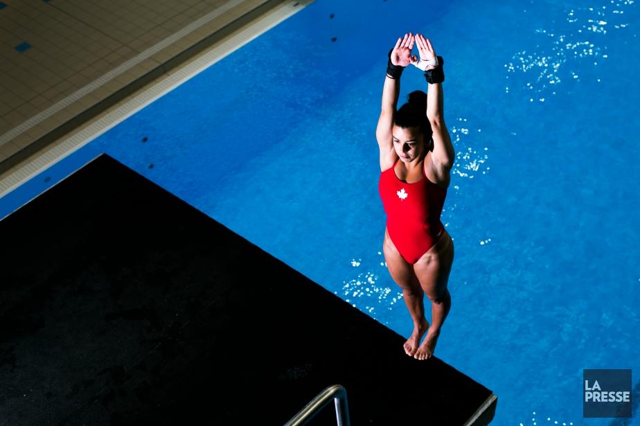 Au 10 m individuel et au 10 m... (Archives La Presse)