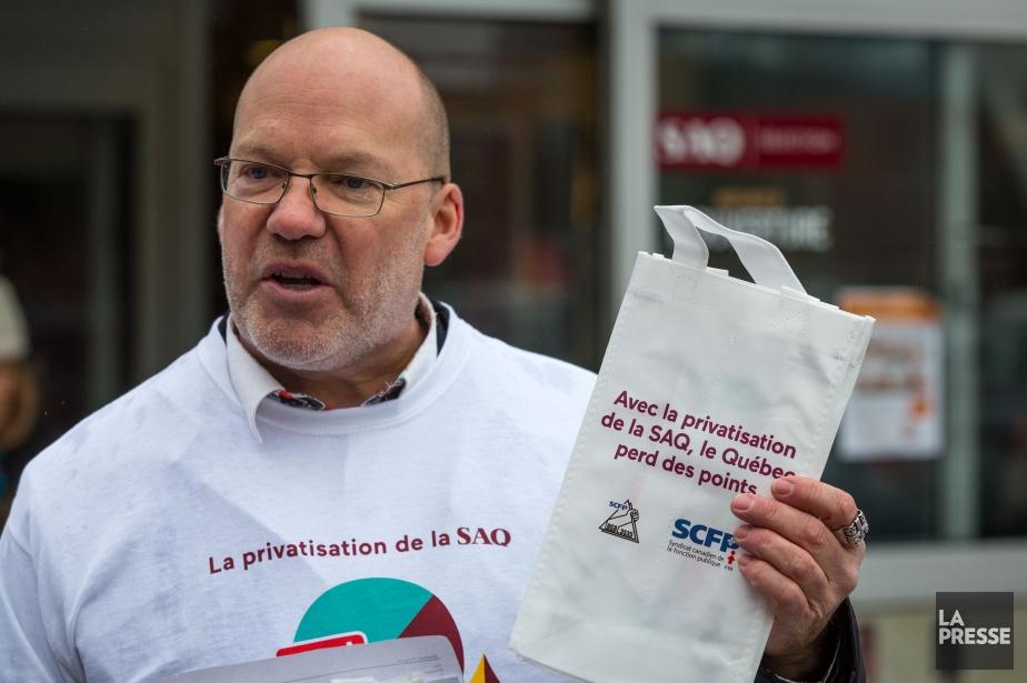 Marc Ranger, directeur québécois du SCFP... (La PressePHOTO SIMON GIROUX, LA PRESSE)