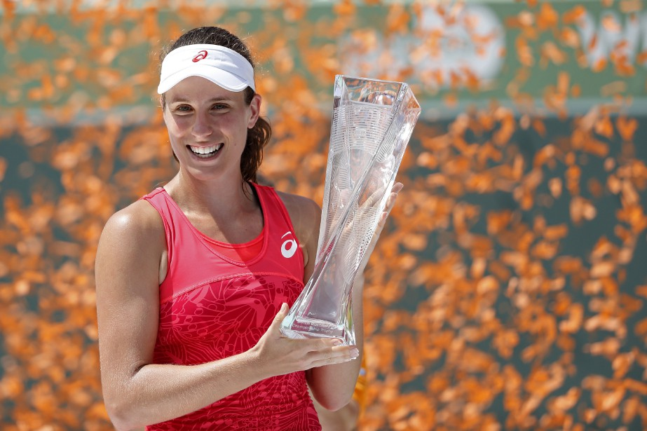 Âgée de 25 ans, Johanna Konta a reçu... (Photo Geoff Burke, USA TODAY Sports)