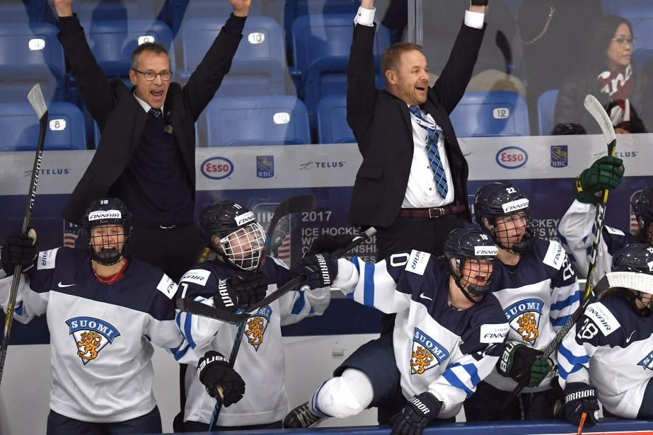 La seule autre fois que la Finlande avait... (Jason Kryk, La Presse canadienne)