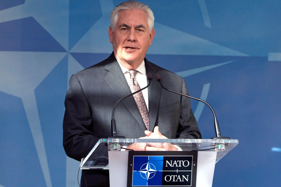 Rex Tillerson... (PHOTO VIRGINIA MAYO, ARCHIVES REUTERS)