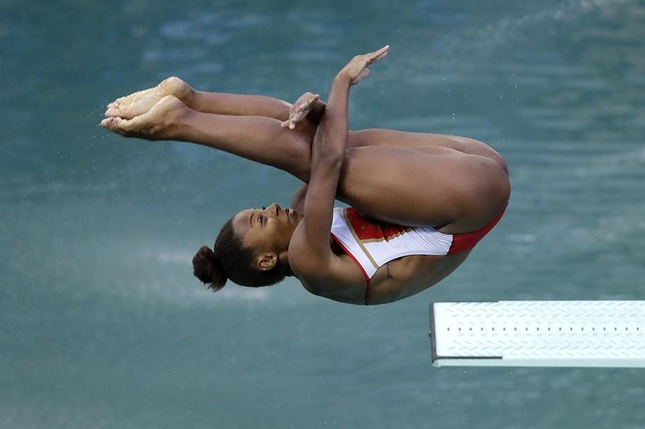 Jennifer Abel a obtenu le bronze au 3... (Wong Maye-E, Associated Press)