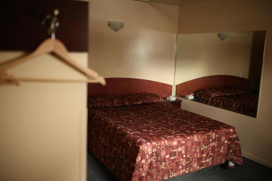 Une fois dans la chambre d'hôtel, ce n'est... (PHOTO MARTIN CHAMBERLAND, LA PRESSE)