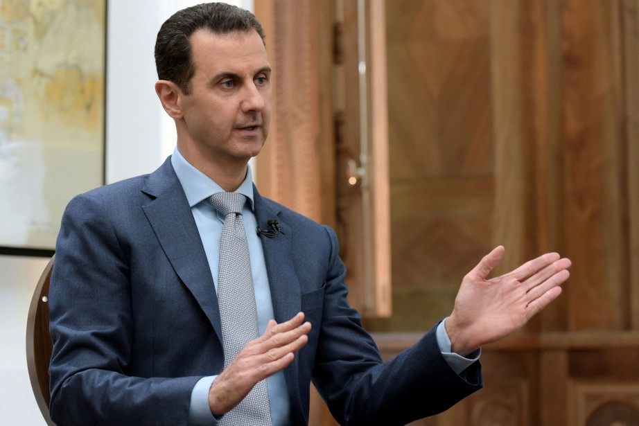 FILE PHOTO: Syria's President Bashar al-Assad speaks during... (REUTERS)