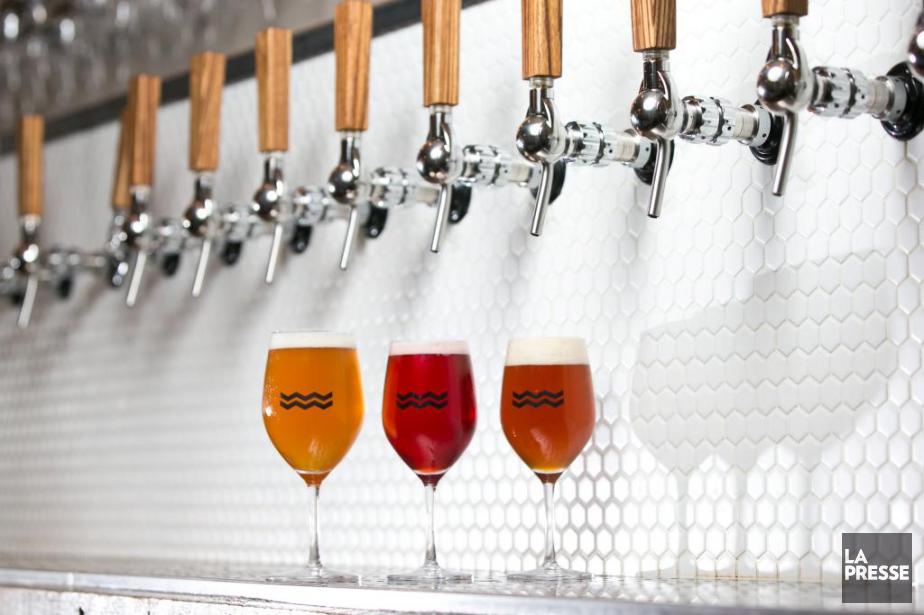 Des bières de l'Isle de Garde.... (PHOTO HUGO-SÉBASTIEN AUBERT, LA PRESSE)