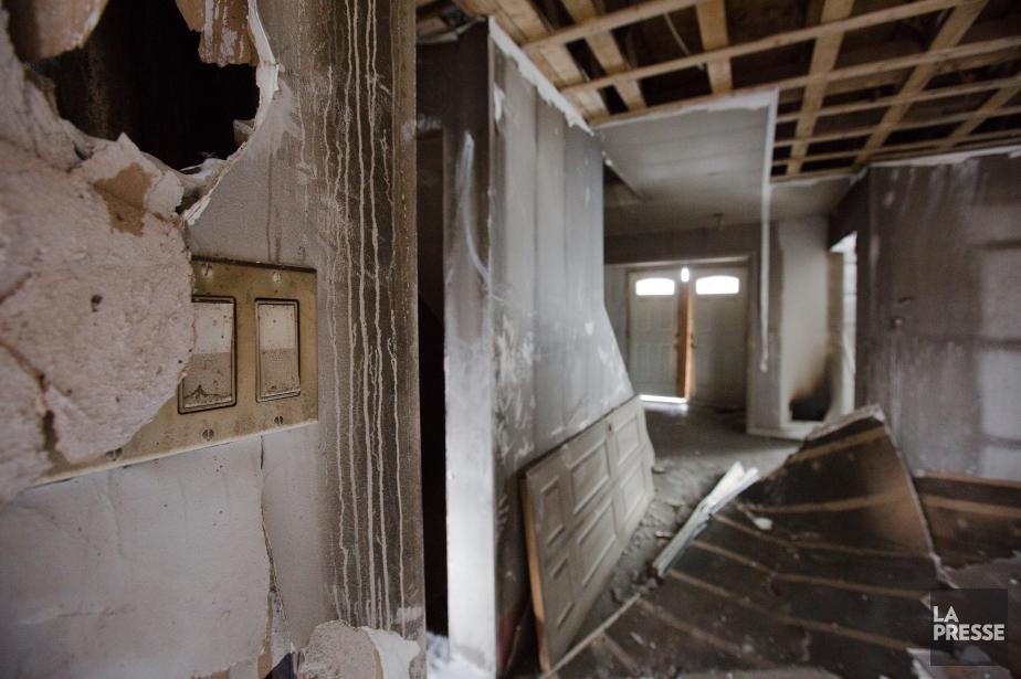 Roberto Alfonso se faisait construire une maison, sur... (Photo Ninon Pednault, La Presse)