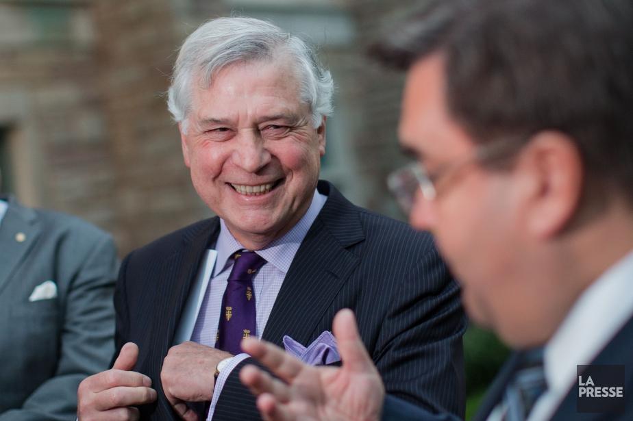 Le maire de Westmount, Peter F. Trent, et... (Photo Edouard Plante-Fréchette, archives La Presse)