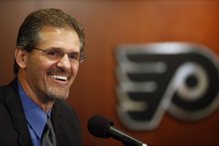 Ron Hextall, des Flyers de Philadelphie, a été... (Photo Matt Slocum, AP)