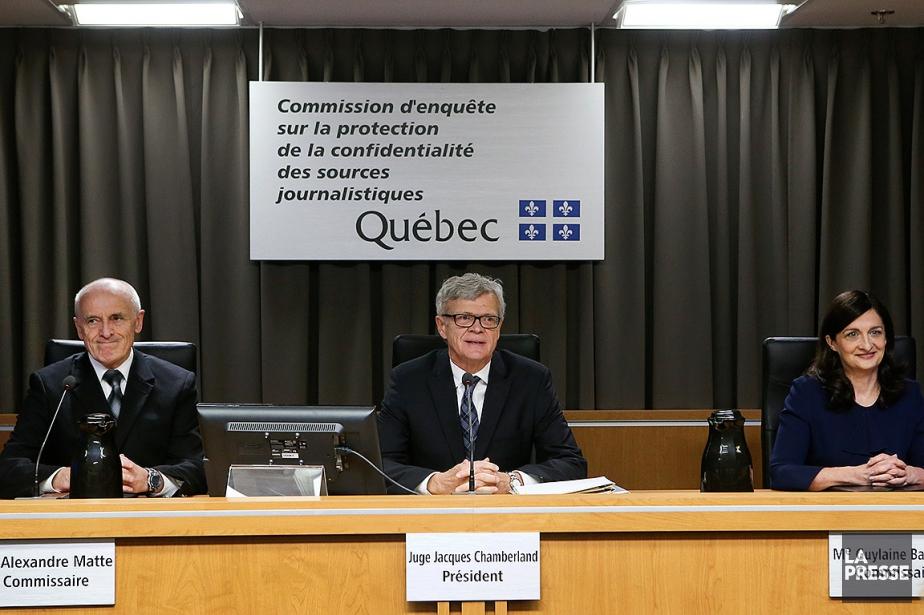 Le commissaire Alexandre Matte, le président de la... (ROBERT SKINNER, ARCHIVES LA PRESSE)