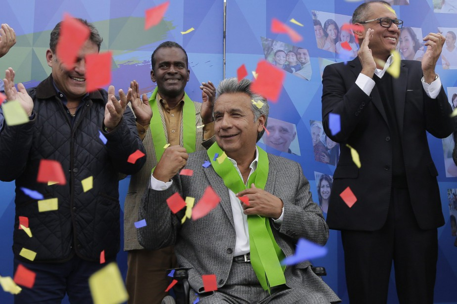 La victoire de Lenin Moreno soulage une gauche... (PHOTO AP)
