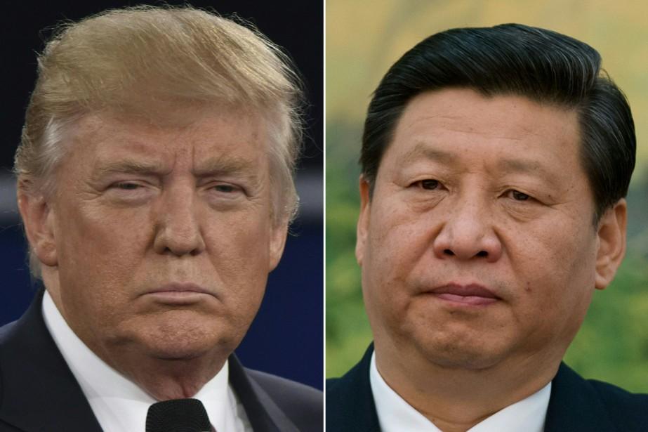 Les dirigeants des deux premières puissances économiques mondiales,... (AFP)