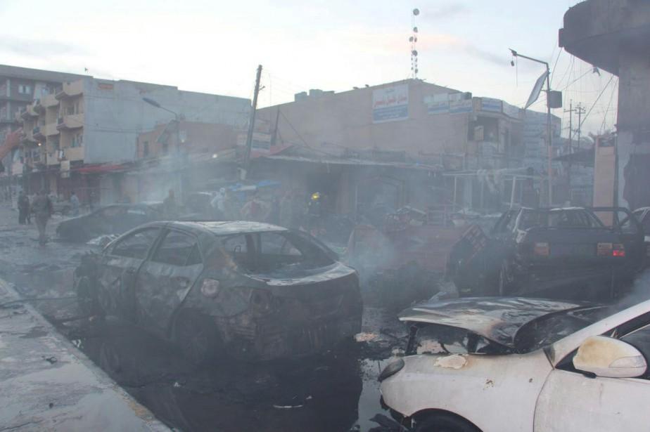 Un attaque similaire s'était produite à Tikrit le... (REUTERS)