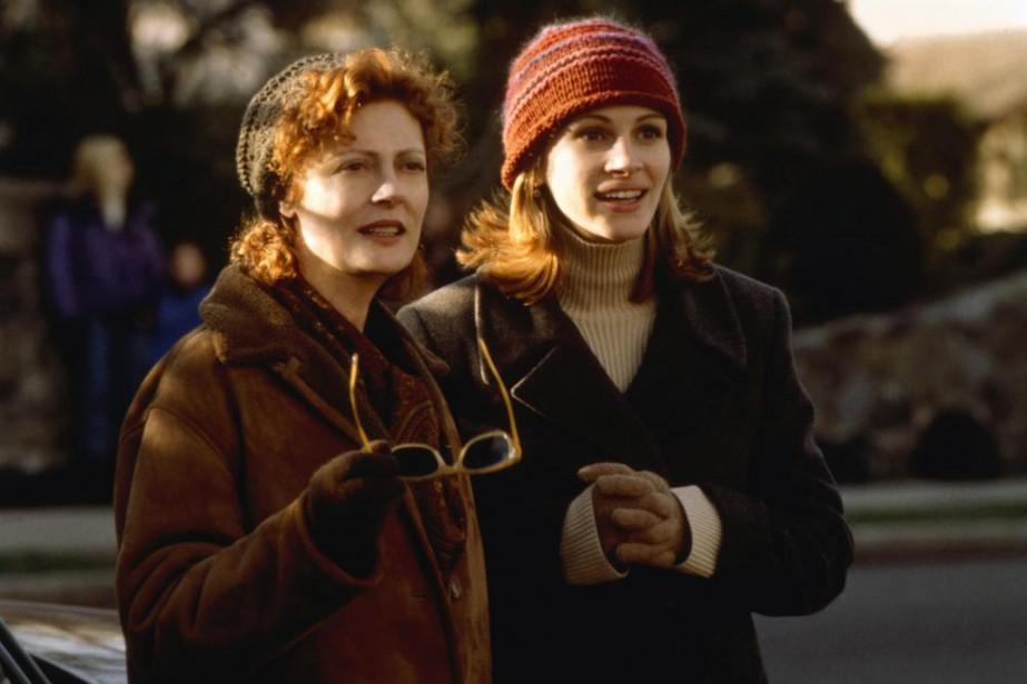 Susan Sarandon et Julia Roberts dans le filmStepmom,... (Photo fournie parColumbia)