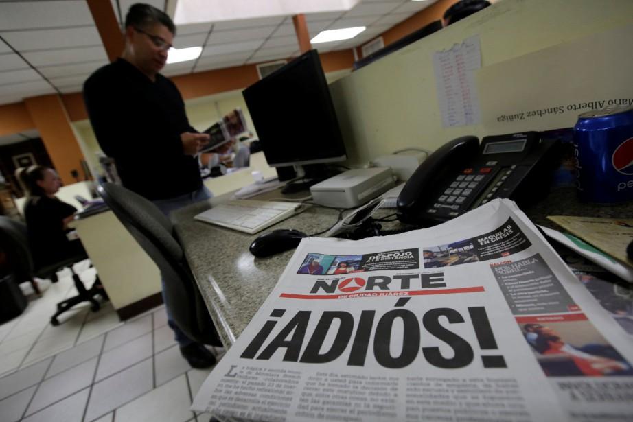 Le directeur du journal Nortede Ciudad Juarez a... (Photo Jose Luis Gonzalez, REUTERS)