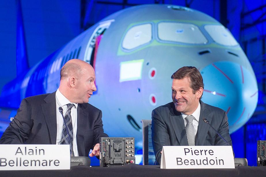 Alain Bellemare et Pierre Beaudoin, en avril 2016.... (Ryan Remiorz, archives PC)