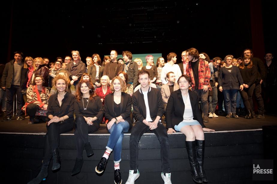Dévoilement des finalistes du Gala Québec cinéma. Avec... (Photo André Pichette, La Presse)