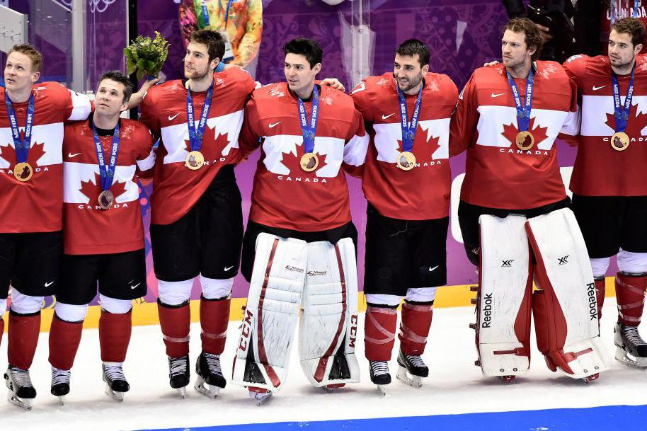 L'équipe canadienne de hockey a remporté l'or lors... (ARCHIVES PC)