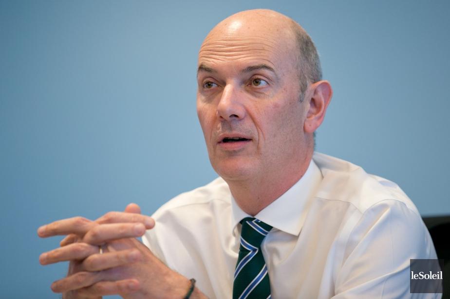 Roland Lescure, premier vice-président et chefdesplacements de la... (Photothèque Le Soleil)